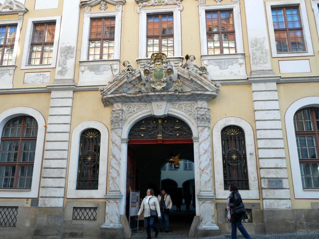 ゲルリッツ 博物館 ゲルリッツ歴史博物館  オーバーラウジッツ学術図書館  バロックハウス外見 @Barockhaus Neißstraße 30