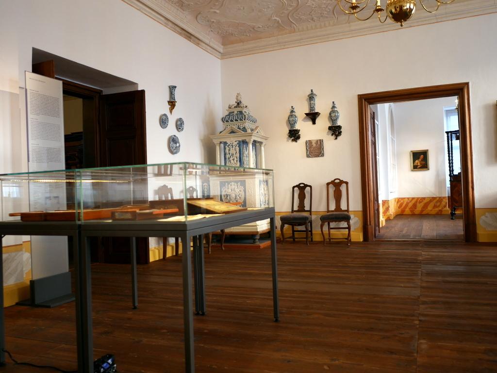 ゲルリッツ 博物館 ゲルリッツ歴史博物館  オーバーラウジッツ学術図書館 バロックハウス内部 @Barockhaus Neißstraße 30