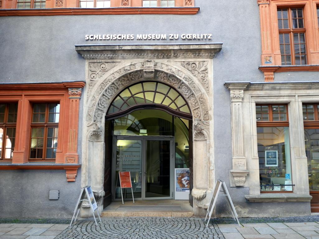 ゲルリッツ 博物館 シレジア博物館 シレジア博物館入口 @Schlesisches Museum zu Görlitz