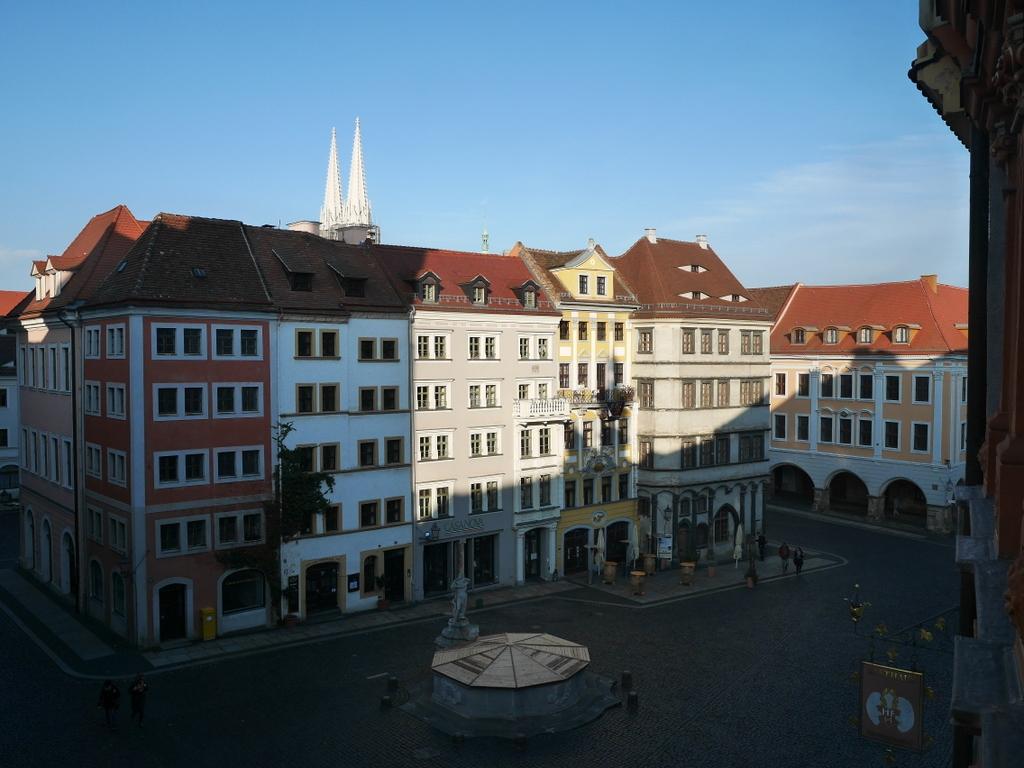 ゲルリッツ 博物館 シレジア博物館  シレジア博物館から広場を臨む @Schlesisches Museum zu Görlitz