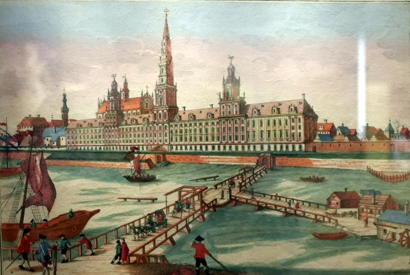 ゲルリッツ 博物館 シレジア博物館   ヴロツワフ大学当初計画の絵 @Schlesisches Museum zu Görlitz