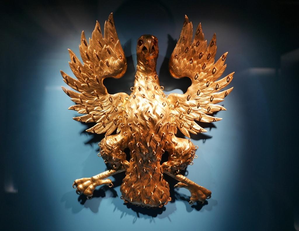 ゲルリッツ 博物館 シレジア博物館 金銀製の鷲 @Schlesisches Museum zu Görlitz