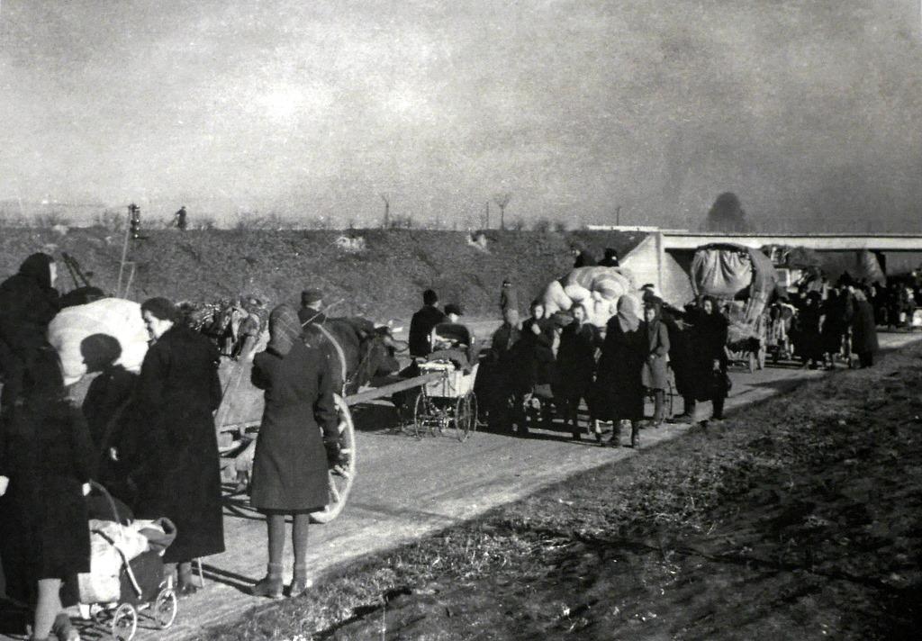ゲルリッツ 博物館 シレジア博物館 戦後のドイツ人追放の時の写真 @Schlesisches Museum zu Görlitz