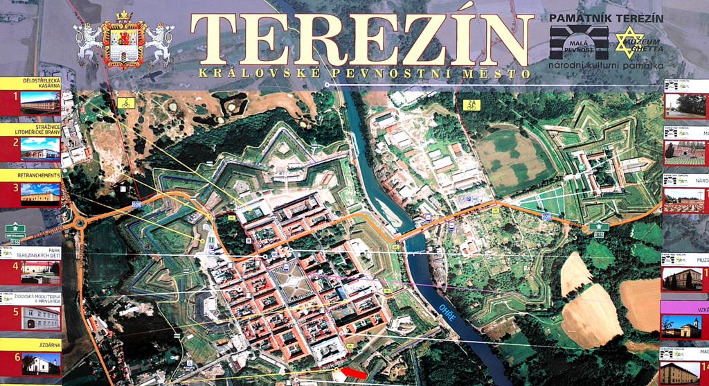 テレジーン テレジン(Terezín) 観光ガイド /  『テレジンの子どもたちから―ナチスに隠れて出された雑誌「VEDEM」』と『プラハ日記 アウシュヴィッツに消えたペトル少年の記録』を読む