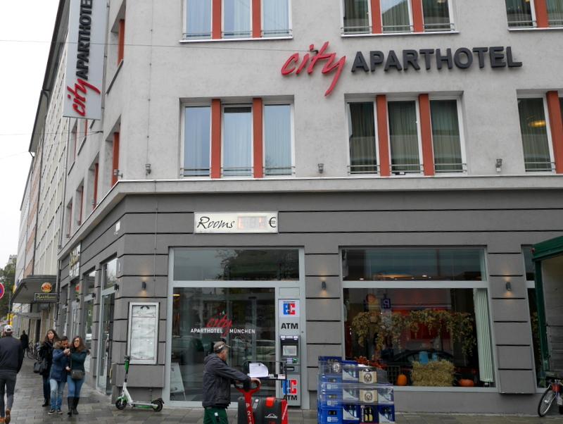 海外アパートメント泊  海外でアパートを借りる方法 フロントがあるアパートメントホテル @München