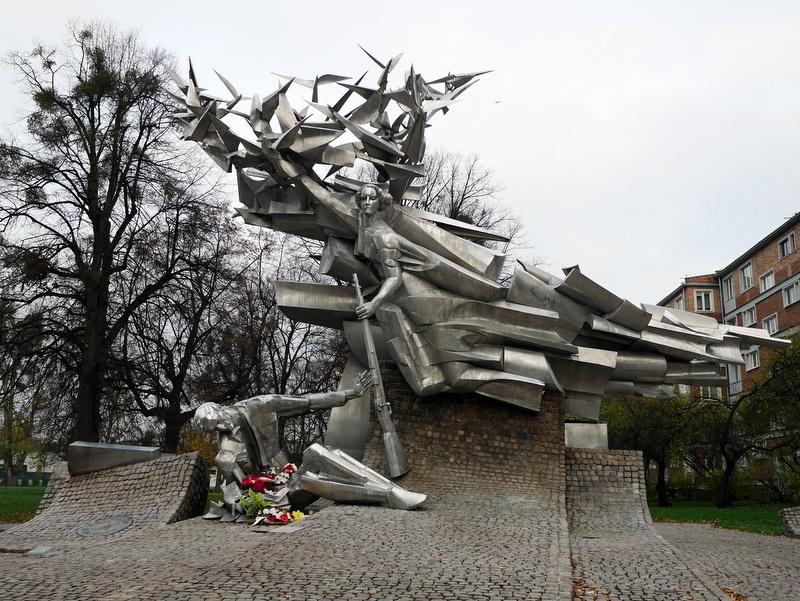 グダニスク グダンスク ダンツィヒ 博物館 戦争 ポーランド ポーランド郵便局 ポーランド郵便局守備隊の記念碑 @Poczta Polska