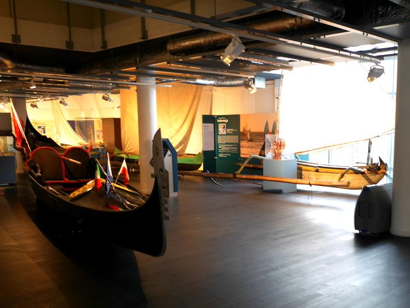 グダニスク グダンスク ダンツィヒ 博物館 港町 ポーランド 海事博物館 海洋博物館  海洋文化センター 木製の船のフロア @Ośrodek Kultury Morskiej