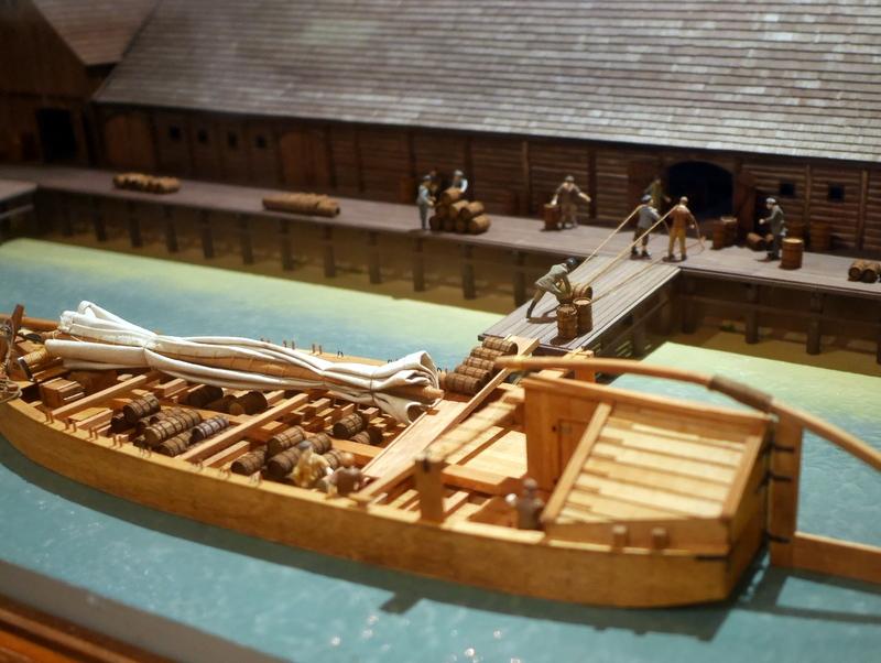 グダニスク グダンスク ダンツィヒ 博物館 港町 ポーランド 海事博物館 海洋博物館  クレーン博物館 灰の荷下ろし模型 @Żuraw
