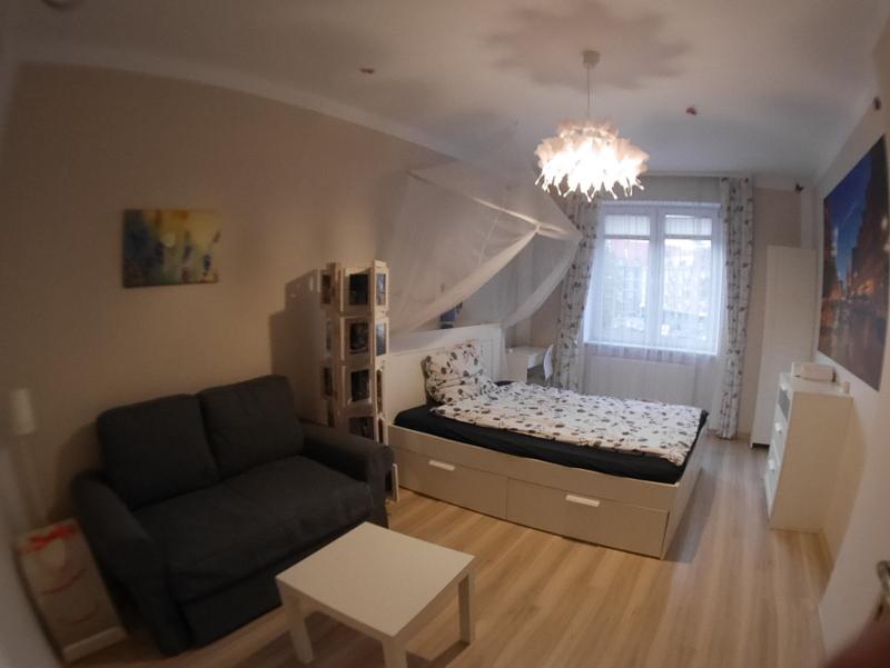 グダニスク グダンスク ダンツィヒ ポーランド  アパート 寝室 @Bajkowy Gdańsk