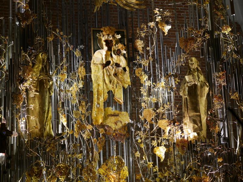 グダニスク グダンスク ダンツィヒ ポーランド 琥珀 聖ブリギダ教会 ヴェステルプラッテ 聖マリア教会 琥珀のマリア @Saint Bridget Church