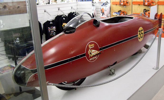 海外ツーリング-ニュージーランド編 番外1 / バイク乗りの聖地インバカーギル、映画『世界最速のインディアン』バート・マンローの博物館へ