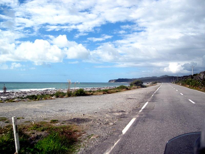海外ツーリング ニュージーランド ロード オブ ザ リング オートバイレンタル 南島 西海岸 西海岸を走る @West Coast