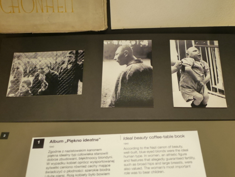 グダニスク グダンスク ダンツィヒ 博物館 戦争 ポーランド 第二次世界大戦博物館 精神病者のプロパガンダ写真(1934) @Muzeum II Wojny Światowej w Gdańsku