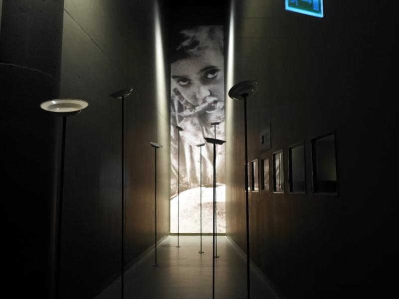 グダニスク グダンスク ダンツィヒ 博物館 戦争 ポーランド 第二次世界大戦博物館 飢餓のブース @Muzeum II Wojny Światowej w Gdańsku
