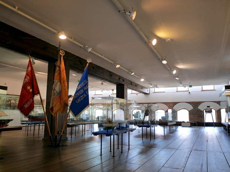 グダニスク グダンスク ダンツィヒ 博物館 港町 ポーランド 海事博物館 海洋博物館 穀物倉庫 ゆとりある船舶模型展示 @National Maritime Museum in Gdansk