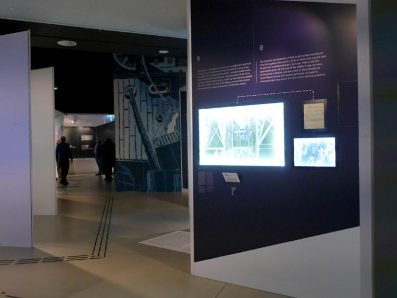 グダニスク グダンスク ダンツィヒ ポーランド グディニャ グディニャ博物館 グディニャ海軍博物館 駆逐艦ブリスカヴィカ グディニャ水族館 館内の様子 @Muzeum Miasta Gdyni