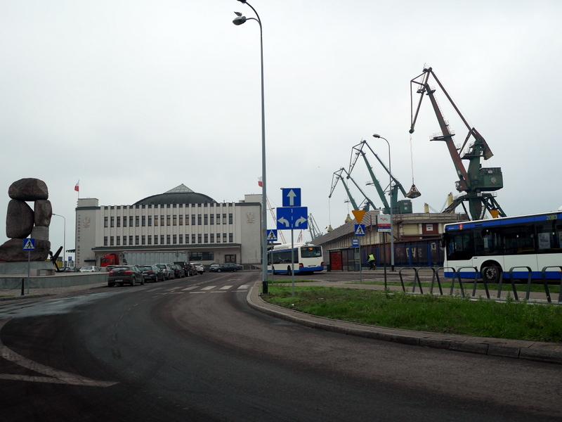 グダニスク グダンスク ダンツィヒ ポーランド グディニャ バルト海 三連都市 ギュンター グラス 蟹の横歩き ヴィルヘルム グストロフ号事件  グディニャの埠頭 @Gdynia