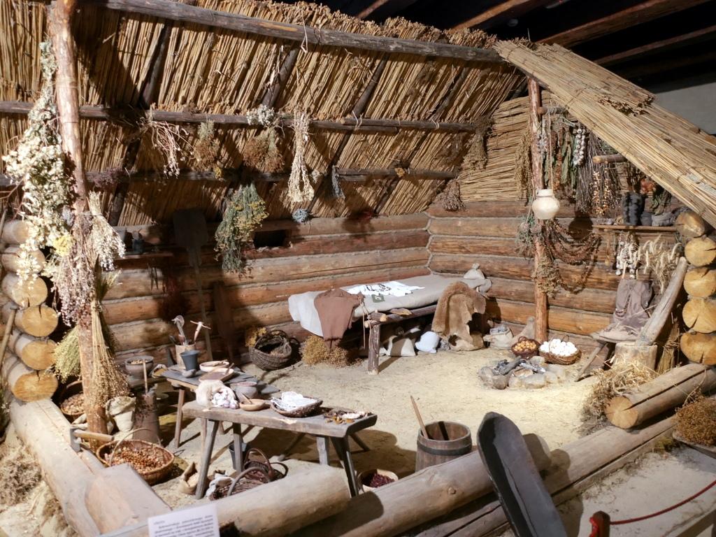 ヴロツワフ ブレスラウ 博物館 考古学博物館 中石器時代の小屋 @Muzeum Archeologiczne Oddział