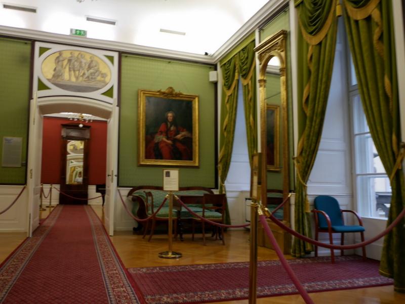 ヴロツワフ ブレスラウ 博物館  市歴史博物館 宮殿内風の展示 @Pałac Królewski we Wrocławiu