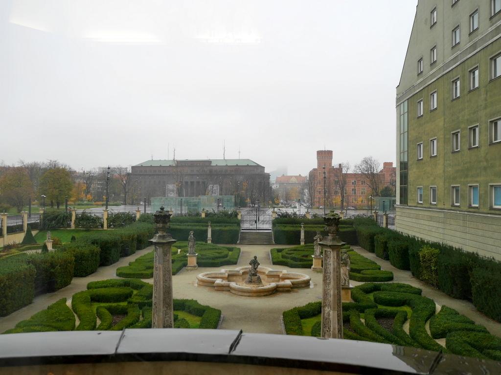 ヴロツワフ ブレスラウ 博物館  市歴史博物館 ヴロツワフ市歴史博物館中庭 @Pałac Królewski we Wrocławiu