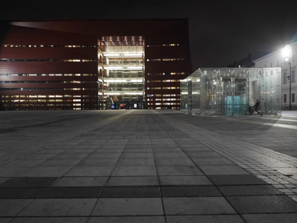 ヴロツワフ ブレスラウ シロンスクの芸術都市 オペラ座 NFM CDショップ ヴロツワフ国立音楽フォーラム外観 @NFM
