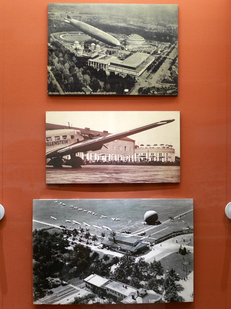 ヴロツワフ ブレスラウ 博物館  市歴史博物館 Breslau-Gandau の空港ビル @Pałac Królewski we Wrocławiu