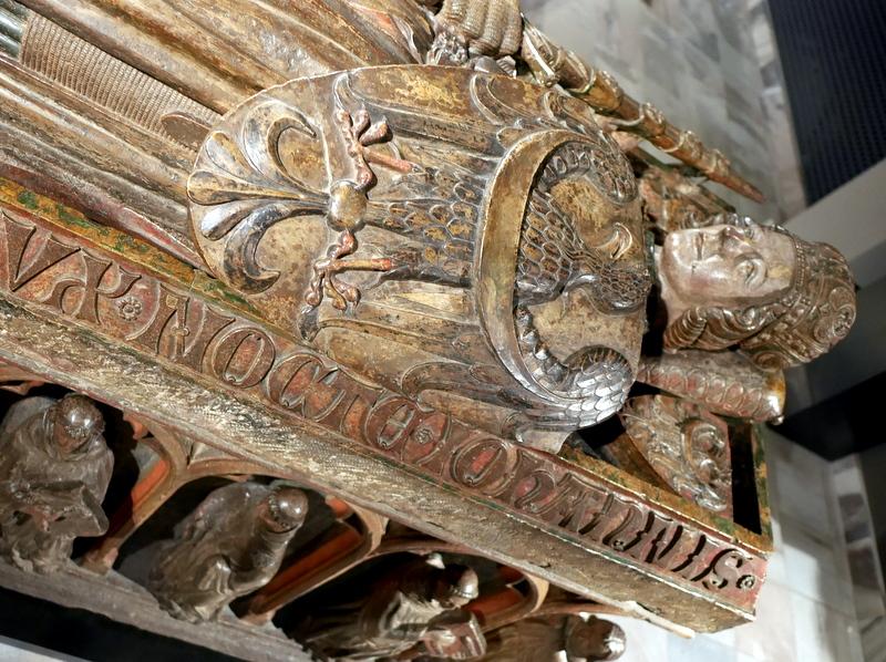 ヴロツワフ ブレスラウ  美術館 シロンスクの芸術都市 国立博物館  ヘンリク4世の石棺 1290年頃 @Muzeum Narodowe we Wrocławiu