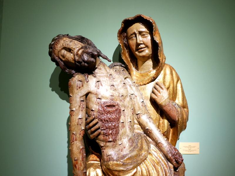 ヴロツワフ ブレスラウ  美術館 シロンスクの芸術都市 国立博物館  傷だらけすぎるピエタ 1380年 @Muzeum Narodowe we Wrocławiu