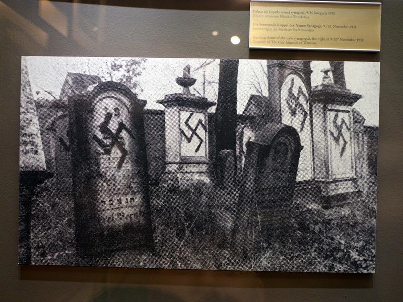 ヴロツワフ ブレスラウ 博物館  市歴史博物館 ユダヤ人墓地の様子 @Pałac Królewski we Wrocławiu