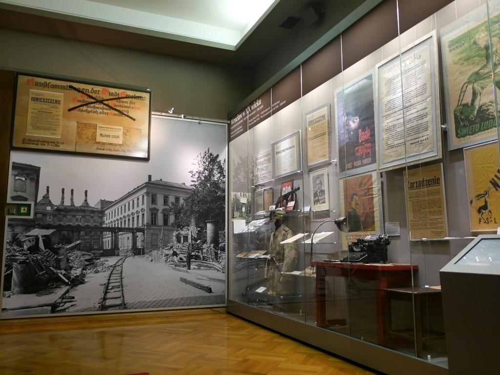 ヴロツワフ ブレスラウ 博物館  市歴史博物館 1945年以降の展示 @Pałac Królewski we Wrocławiu