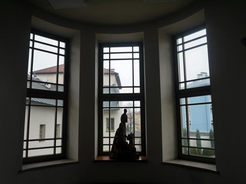 キェルツェ キエルツェ ポーランド キエルツェ歴史博物館 博物館の窓から @Muzeum Historii Kielc