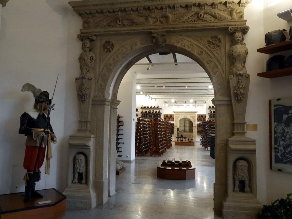 プルゼニ プルゼニュ ピルゼン チェコ ボヘミア 西ボヘミア博物館 地上階の兵器庫展示 @Západočeské muzeum v Plzni