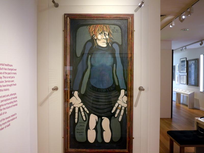 ロンドン 病院博物館 精神疾患  王立ベスレム病院  ベスレム こころの博物館 ベスレム ギャラリー Charlotte Johnson Wahl 作 『It Has Not Worked』 1974