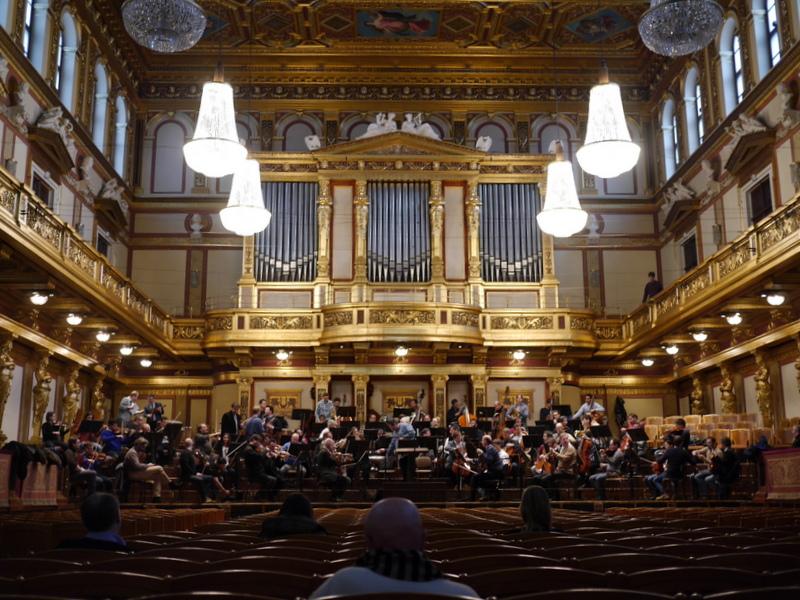 本場のコンサートホールを再現 ウィーンのコンサートホール ムジークフェライン(楽友協会)@Wiener Musikverein