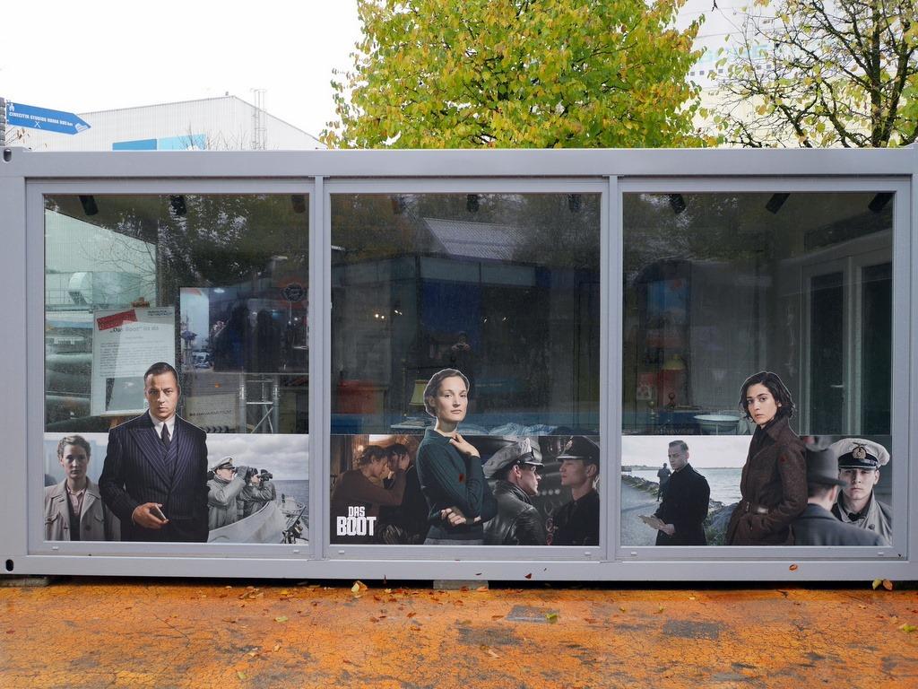 続編のTVシリーズ『Uボート ザ・シリーズ 深海の狼』の大道具も展示 @Bavaria Filmstadt