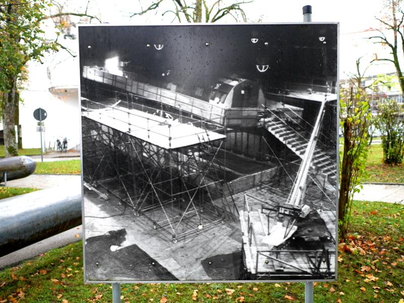 可動式の潜水艦内のセット @Bavaria Filmstadt