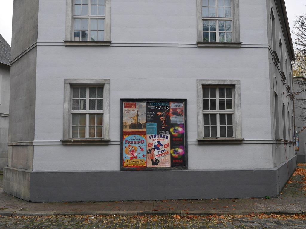 昔のドイツの街のセット @Bavaria Filmstadt