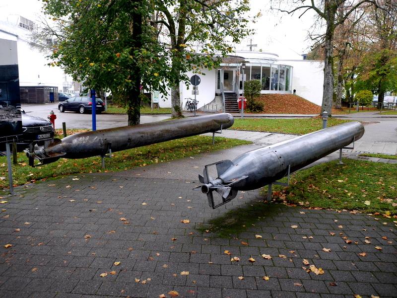 魚雷の展示 @Bavaria Filmstadt