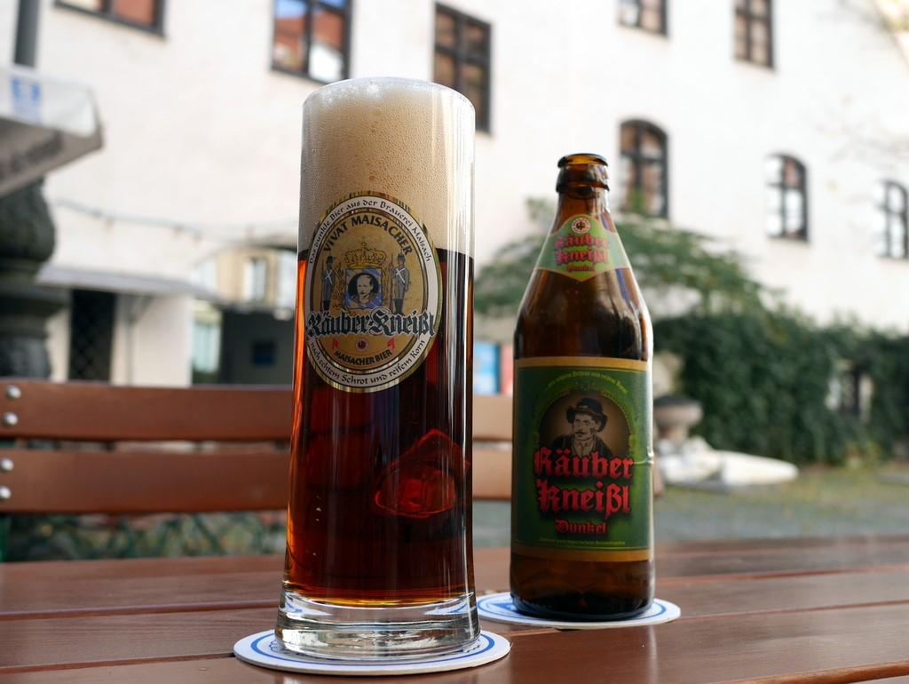 """ミュンヘンのビール """"Räuber Kneißl"""" @Münchner Stadtmuseum"""