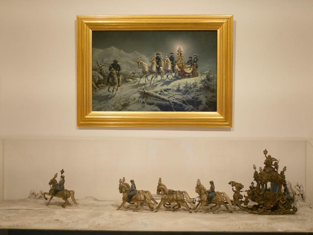 ミュンヘン レジデンツ  グロット宮殿 ニンフェンブルク城 アザム教会 旧植物園 冬の旅程 @Marstallmuseum