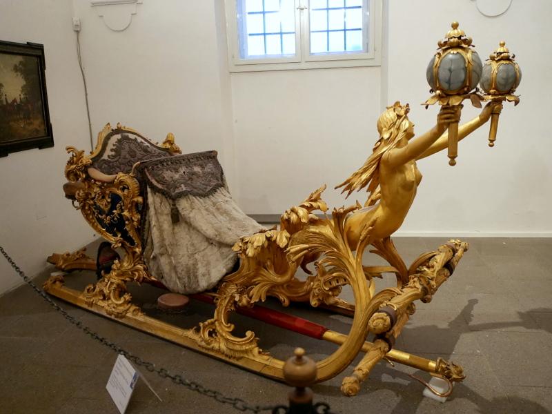 ミュンヘン レジデンツ  グロット宮殿 ニンフェンブルク城 アザム教会 旧植物園 ルードヴィッヒ2世のそり @Marstallmuseum