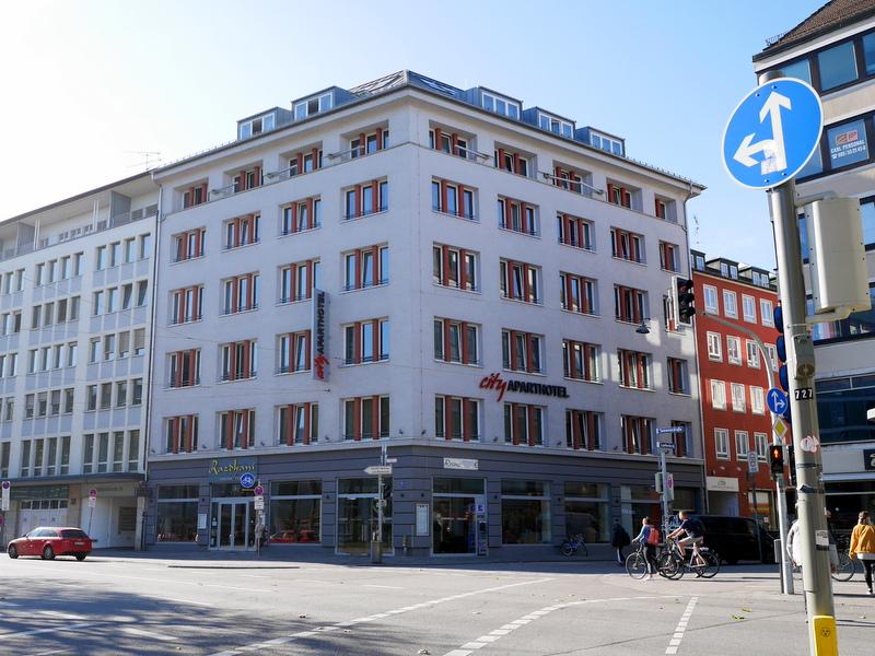 ミュンヘン アパート アパート外観 @City Aparthotel München