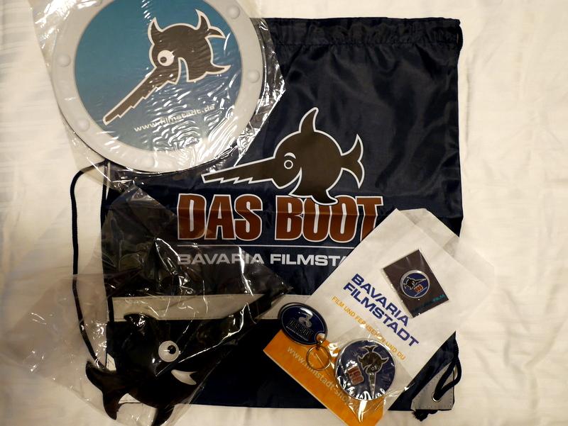 映画『U・ボート』(Das Boot)のグッズ @Bavaria Filmstadt