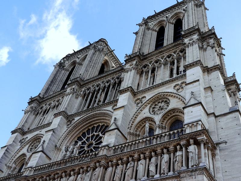 スリにあった 紛失した 安全なクレジットカードの持ち方  ノートルダム大聖堂 @Cathédrale Notre-Dame de Pari