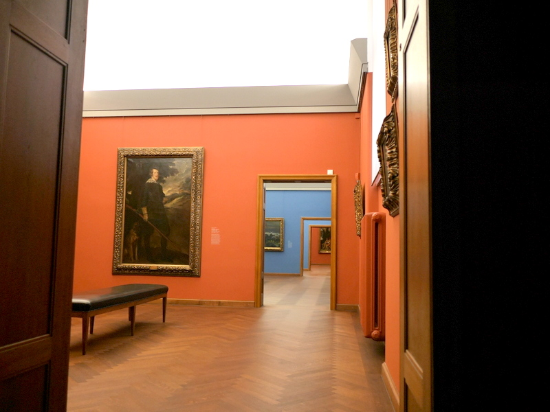 ミュンヘン 美術館 コンビチケット シャック コレクションシャック ギャラリー 無人状態の館内 @Schack-Galerie