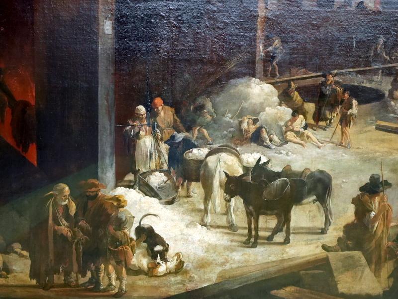 ミュンヘン 美術館  芸術の都でアートを堪能 アルテ ノイエ モデルネ ピナコテーク セバスチャン・ブルドン作 「ローマの石灰窯」(1637年頃) @Alte Pinakothek