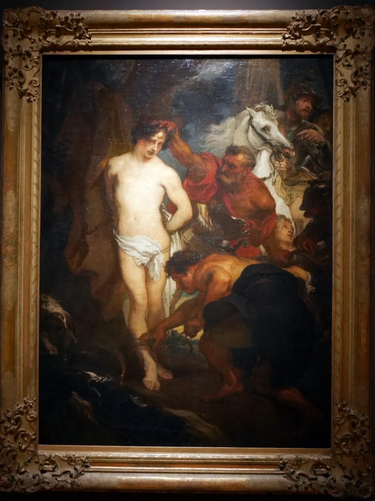 ミュンヘン 美術館  芸術の都でアートを堪能 アルテ ノイエ モデルネ ピナコテーク ヴァン・ダイク「聖セバスティアヌスの殉教」 @Alte Pinakothek