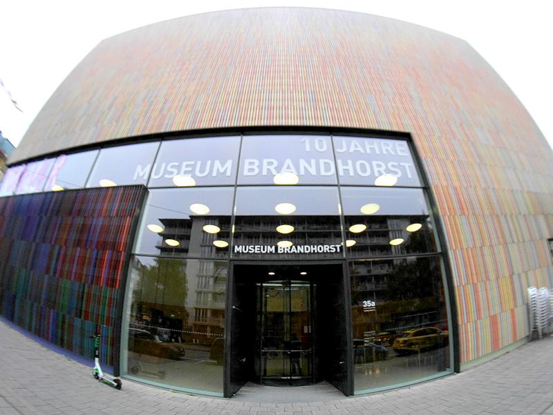ミュンヘン 美術館 コンビチケット ブランドホルスト ブランドホルスト・ミュージアム外観 @Museum Brandhorst