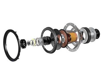 オーディオシステムの変遷 KEF Uni-QUni-Qドライバーアレイ ツイーターをミッドレンジコーンに埋めてある