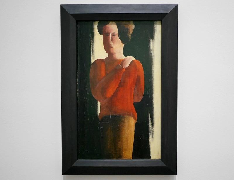 ミュンヘン 美術館  芸術の都でアートを堪能 アルテ ノイエ モデルネ ピナコテーク オスカー・シュレンマー作 「赤い少年」 @Pinakothek der Moderne